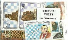 """Lot timbres thematique  """" Echec"""""""