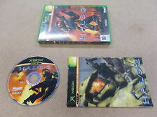 Xbox Original Pal Game HALO 2 with Box Instructions