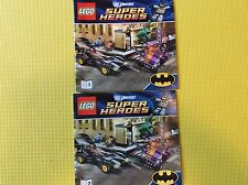 New Lego Instruction Manual ONLY Super Heroes Batmobile & 2-Faced Chase 6864