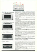 Catalogo completo accuphase b598b