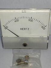 WESCHLER INSTRUMENTS M9-8102 Hertz Panel Meter