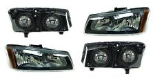 New Headlight PAIR FOR 2005 2006 2007 Chevy Silverado 1500 2500 3500 HD