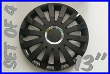 "SET OF 4 13"" FORD KA,FIESTA,ESCORT  WHEEL TRIMS COVER,RIMS,HUB,CAPS  +GIFT #2"