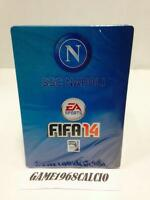 FIFA 14 STEELBOX STEELBOOK NAPOLI PS3 XBOX 360 PC NEW METALLIC BOX EXCLUSIVE