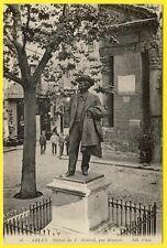 cpa 13 - ARLES (Bouches du Rhône) Statue de Frédéric MISTRAL par RIVIÈRE