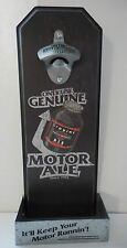 Harley-Davidson Motor Ale Wall Mount Bottle Opener - New