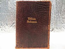 The Complete Works of William Shakespeare  Soft Leather book Walter J. Black