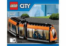 LEGO City Tram With Minifigure Town Square  60097 *BRAND NEW BAGGED*