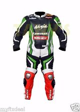 TOM SYKES KAWASAKI NINJA 2013 CHAMPION MOTORBIKE MOTORCYCLE MOTOGP LEATHER SUIT