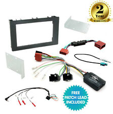 CTKSA01 Saab 9-3 (2008 Onwards) Double Din Car Stereo Fascia Fitting Kit