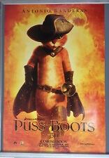 Cinema Poster: PUSS IN BOOTS 2011 (One Sheet Main) Antonio Banderas Salma Hayek
