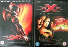 XXX & XXX 2 NEXT LEVEL (Triple X) Vin Diesel*Ice Cube Action Thriller DVD *EXC*