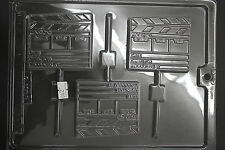 Clapperboard Film Production Candy Pop Chocolate Mold