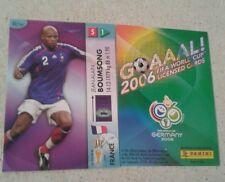 FIFA 2006 World Cup France JEAN-ALAIN BOUMSONG Panini Trading Card