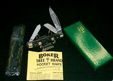 "Boker 6066 Tree Brand Knife Serial #10371 4"" Made in Germany W/Packaging,Papers"