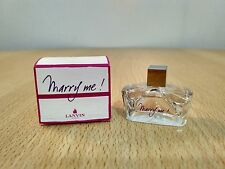Marry Me by Lanvin for Women 4.5ml EDP Miniature Mini Perfume New Box