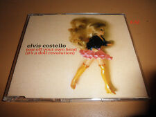 ELVIS COSTELLO 4 track single TEAR OFF YOUR OWN HEAD it's a doll revolution CD
