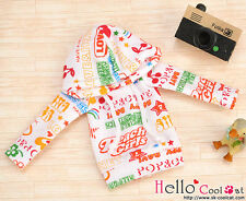☆╮Cool Cat╭☆04.【NP-B07】Blythe/Pullip Hoodie Top(Long Sleeves)# Fruit White