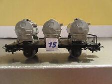 Märklin, H0, Primex 4585, Behältertragwagen, (15)