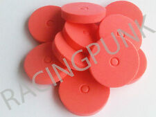 RC coche 190mm XL Interior Body Shell Clips Protector Almohadillas Eje 4mm cuerpo de color rojo