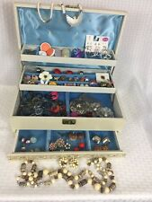 Mele Jewelry Box Full Of Vintage Jewelry