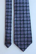 BANANA REPUBLIC Excellent Gray w Purple & Blue Geometrics