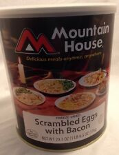 Mountain House Freeze Dried #10 Can Scrambled Eggs With Bacon Exp 2035