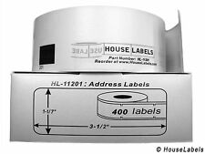 100 Rolls of DK-1201 Brother-Compatible Address Labels  [BPA FREE]