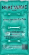 HEAT WAVE Instant Reusable Heat Pack - Medium HW59 Pack-5x9 inch -  made in USA