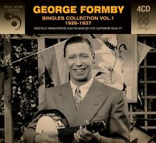 George Formby SINGLES COLLECTION VOL 1 (1926-37) Best Of ESSENTIAL New 4 CD