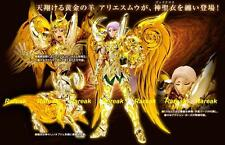 Bandai Saint Seiya Cloth Myth God EX Soul of Gold Aries Mu Action Figure 1pc