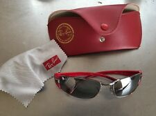 Ray Ban Sunglasses Beautiful Polarized Lenses with Red Frame RB3261