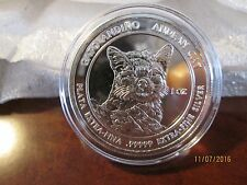 2011 Royal Silver 1 oz. Andean Cats (Lot of 2 - 1oz. rounds)
