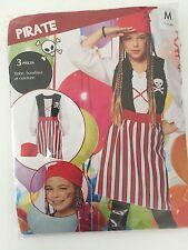 Costume PIRATE 7/10 ans Déguisement Enfant Fille Pirate des Caraibes