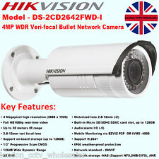 HIKVISION DS-2CD2642FWD-I 4MP 2.8-12mm HD 1080P ONVIF 30m IR Alarm WDR IP Camera