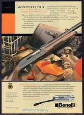 2002 BENELLI Montefeltro Shotgun Photo AD Collectible Hunting Gun Advertising