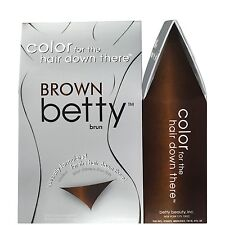 Betty Colour Ladies Pubic Bikini Semi Permanent Hair Dye Medium Dark BROWN Women