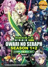 JAPAN Anime DVD OWARI NO SERAPH Season 1+2 Complete Series (1-24) English Sub