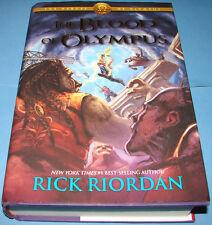The Heroes of Olympus: The Blood of Olympus Bk. 5 by Rick Riordan HB DJ 2nd Prt