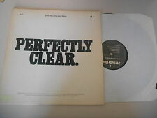LP Jazz East Bay City Jazz Band - Perfectly Clear 2LP (10 Song) BURWEN LABORATOR