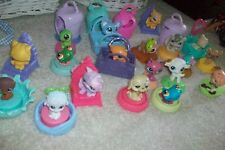 LITTLEST PET SHOP MCDONALDS Happy Meal ANIMALS LPS LOT of 18 and Accessories
