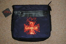 SLAYER CROSS PRINT BLACK MESSENGER BAG BNWT OFFICIAL HELL AWAITS SOUTH OF HEAVEN