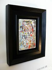 "SUPERB SIMON KIRK ORIGINAL  ""Marcel"" ABSTRACT PAINTING"