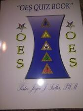 OES Quiz Book* $15.00 & NO S&H