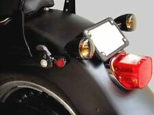Turn Signal Relocation Kit - Black - 2006 to Current Harley Davidson Dyna