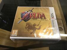 3ds limited edition factory sealed gold case the legend of zelda ocarina of time