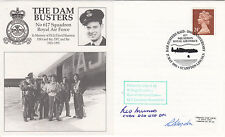 Dam Busters Signed Les Munro  Dambuster pilot with 617 Sqn.R Blagdon 617 Sqn  61