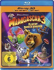 MADAGASCAR 3, Flucht durch Europa (Blu-ray 3D + Blu-ray Disc) NEU+OVP