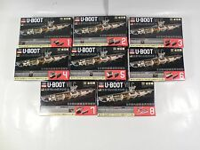 COMPLETE SET SEALED U-BOOT VII C 1/144 SCALE 8 PART GERMAN SUBMARINE MODEL TARGA