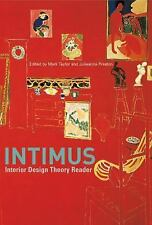 INTIMUS: Interior Design Theory Reader, , Good Book